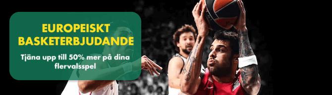 Europeiskt basketerbjudande bet365
