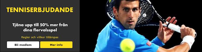 tenniserbjudande bet365