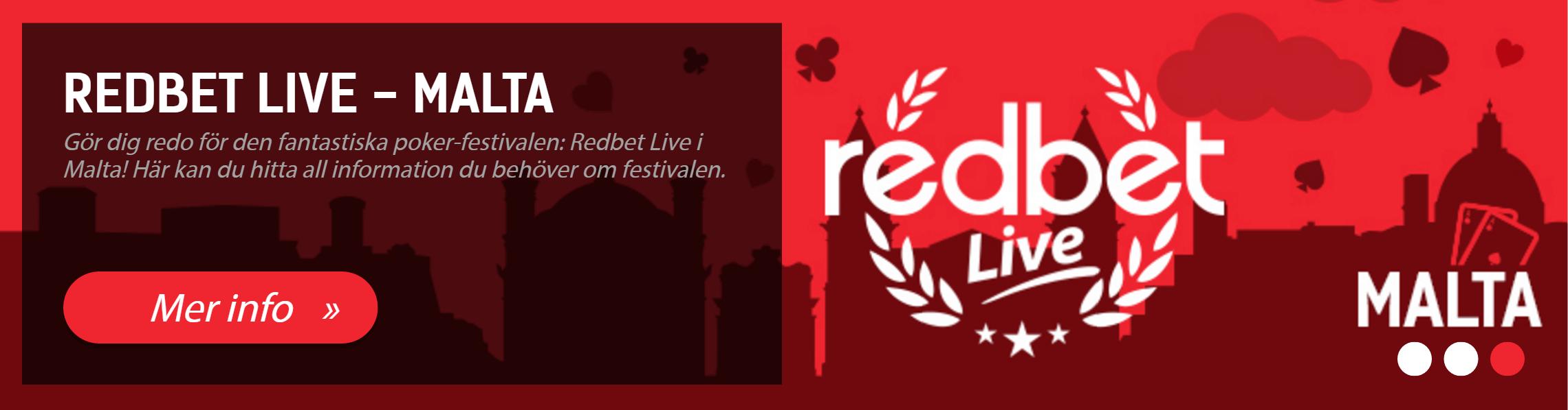 Redbet live Malta