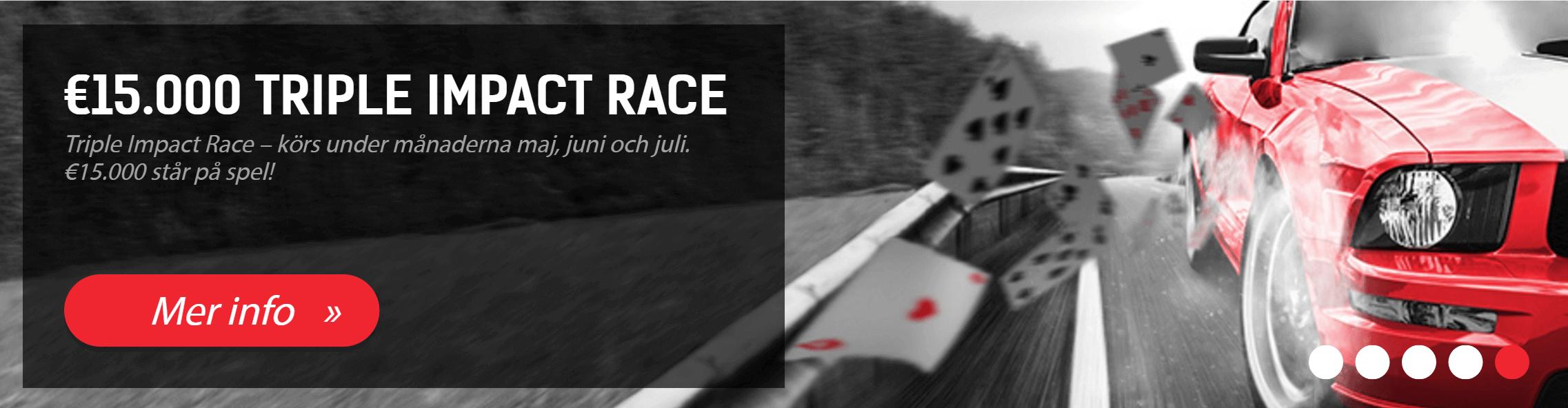 Redbet triple impact race
