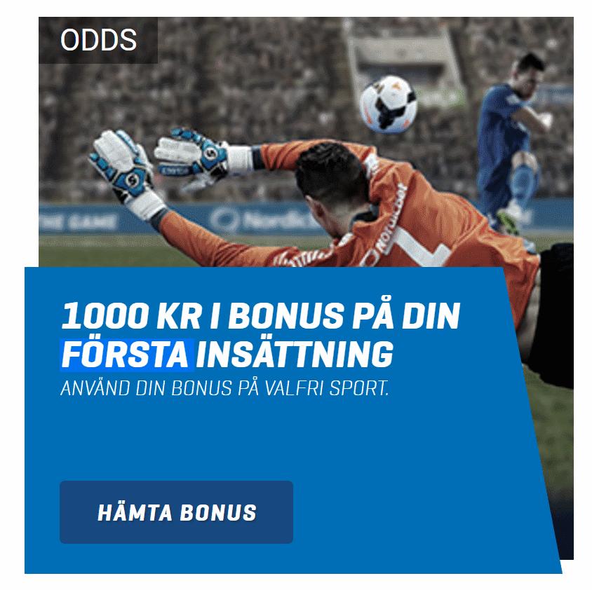 nordicbet odds