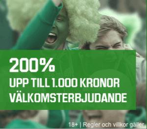 Unibet bonus 1000