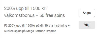 Unibet 200 bonus