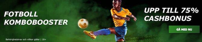 Bet90 fotboll kombobooster
