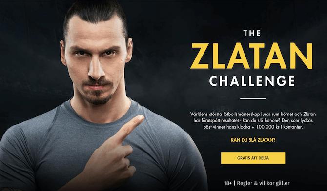 The Zlatan challenge